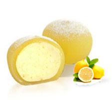 Mochi de crema de limón